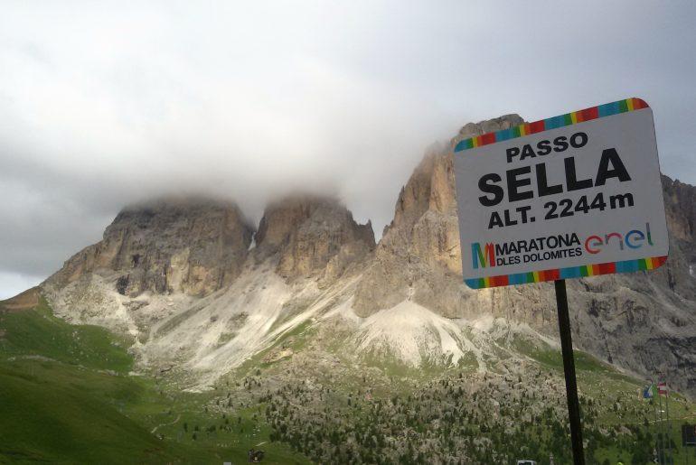 Dolomiti Passo Sella Maratona delle Dolomiti