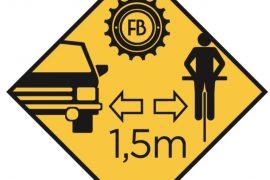Granfondo di Roma marchio sulla maglia distanza adeguata auto bici