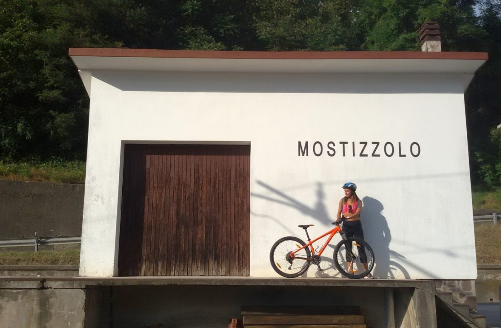 cicloavia tonale po, stazione ferroviaria in Val di Sole