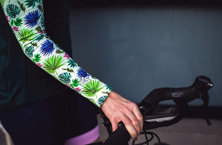 autunno in bici manicotti