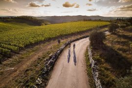 L'Eroica in bicicletta nel Chianti