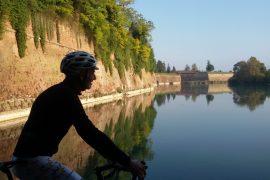 ciclovia del Mincio bastioni di Peschiera