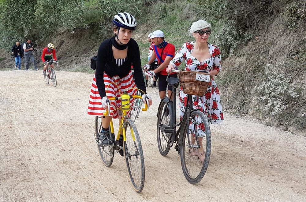 L'Eroica inglese in bici