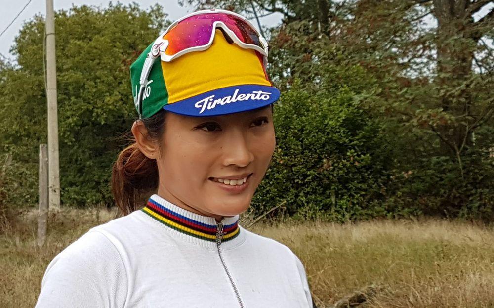 L'Eroica 2017 ciclista cinese