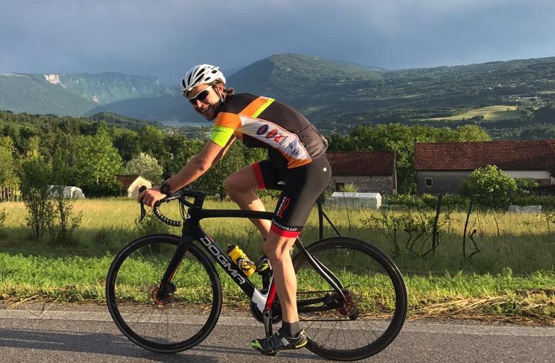 andrej godina ex ciclista esperto di caffè