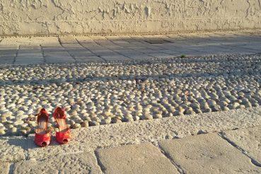 scarpette rosse blog sulla bici al femminile ladradibiciclette.it