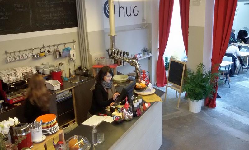 bike café al femminile HUg