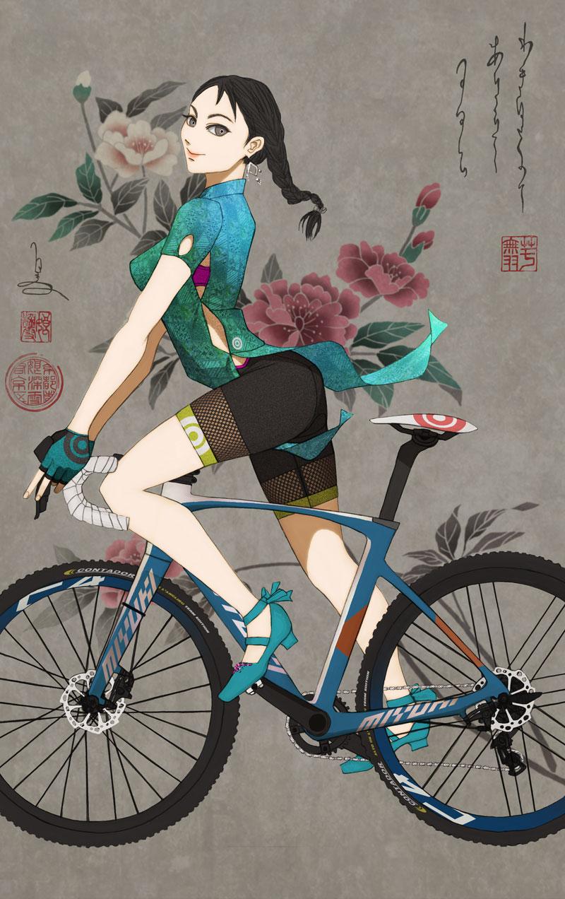 come vestirsi in bici Mariateresa Montaruli Ladra di biciclette blog