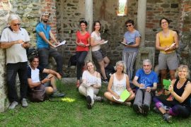 workshop scrittura di viaggio di Mariateresa Montaruli alla Casa del Movimento Lento