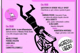locandina Ruote Rosa spettacolo su Alfonsina Strada