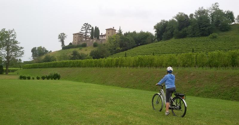 In bicicletta nel Collio Goriziano: castello di Trussio