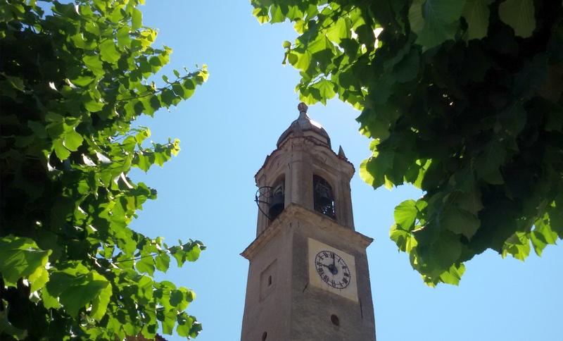 campanile pendente a Camerana Villa