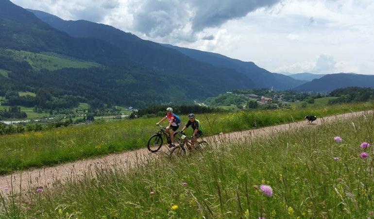 Val di Fiemme in bicicletta di Mariateresa Montaruli blog Ladra di biciclette