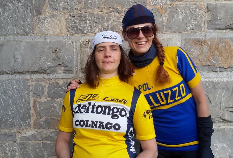 Cicliste eroiche alle Cantine Ricasoli