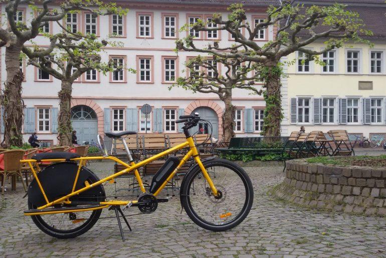 bici elettrica familiare yuba