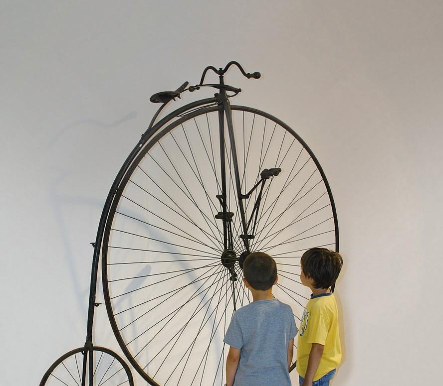 Bici Depoca In Mostra Al Museo Della Scienza E Della Tecnologia Di