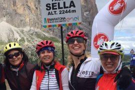 maratona delle dolomiti donne cicliste
