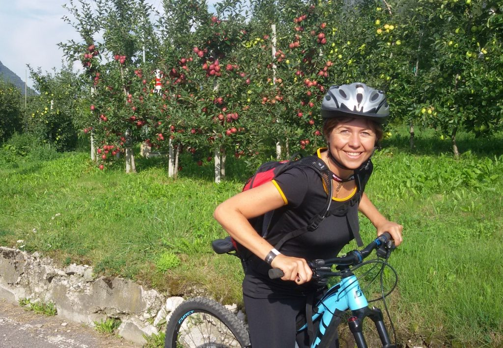 Val di Sole meleti in bici