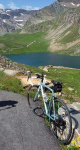 la mia bici da corsa Nemo Cinelli sul Nivolet