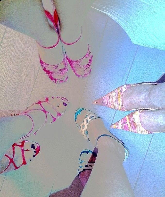 gambe di donne con scarpe da tango ph Mariateresa Montaruli
