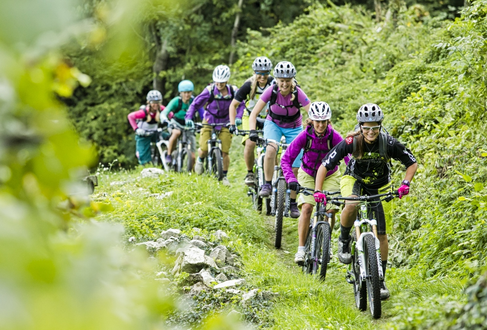 mountain bike piace alle donne