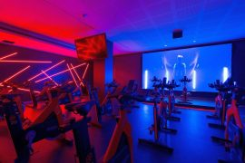 spinning indoor cycling Revolution by Virgin Active