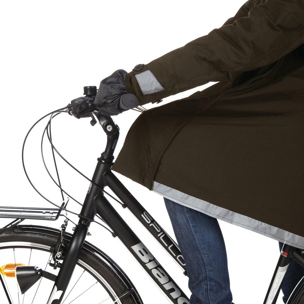 andare in bici d'inverno: giacca impermeabile Magic Parka Tucano Urbano