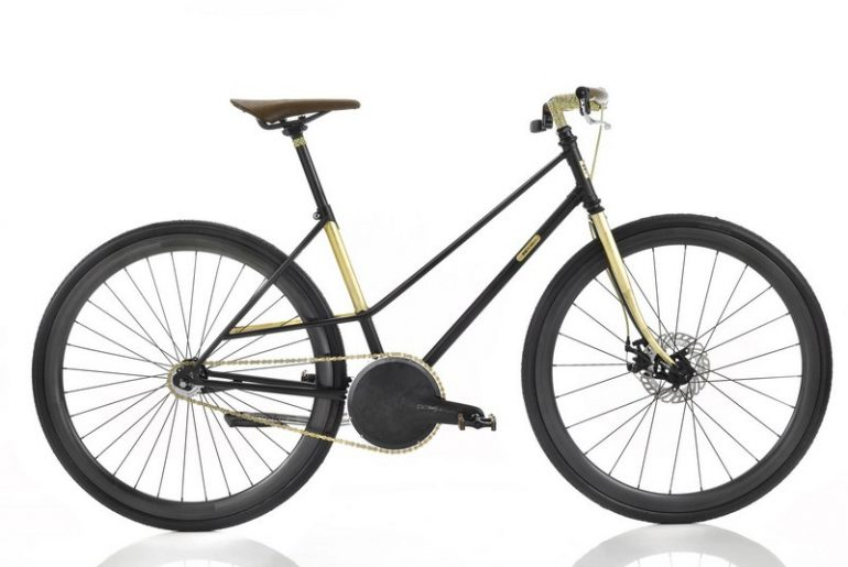 Bicicletta di lusso Senso al Fuorisalone2018