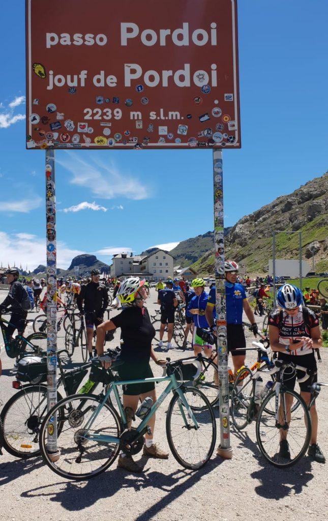 Passo Pordoi Mariateresa Montaruli Ladra di biciclette