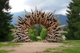 Art in nature ad Arte Sella in Trentino
