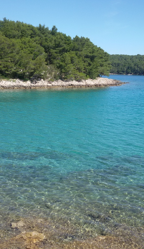costa tra Vrboska e Jelsa a Hvar