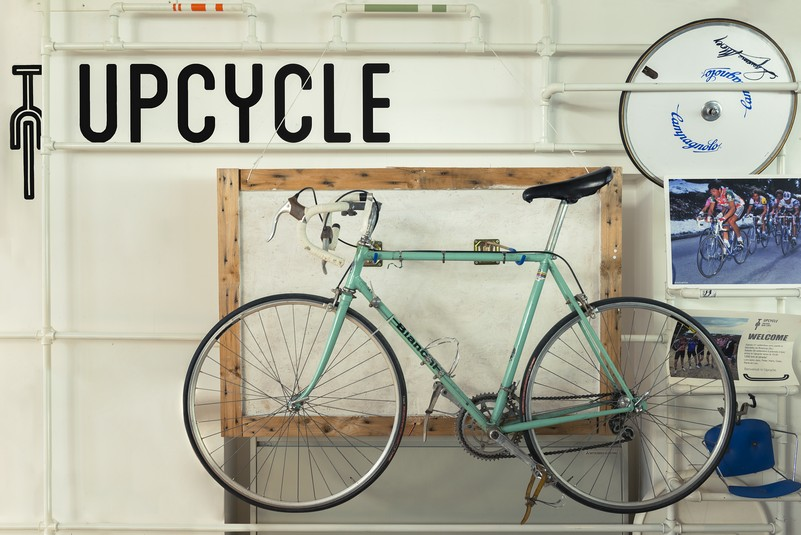 MIlano Bike City, Upcycle Bike Café