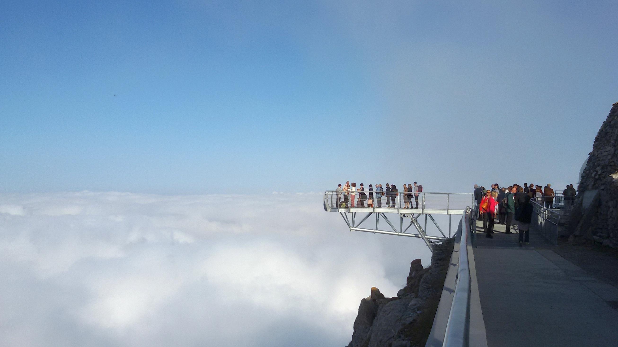 Pontone panoramico nell'Osservatorio del Pic du Midi