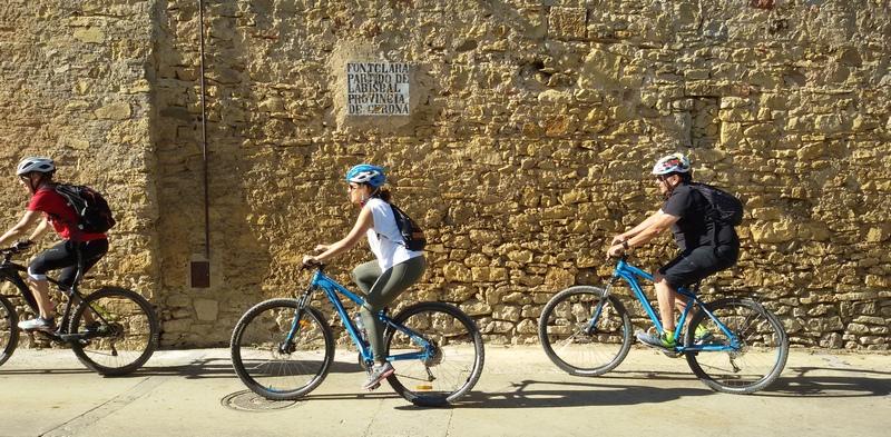 ciclovia Pirinexus in Catalogna