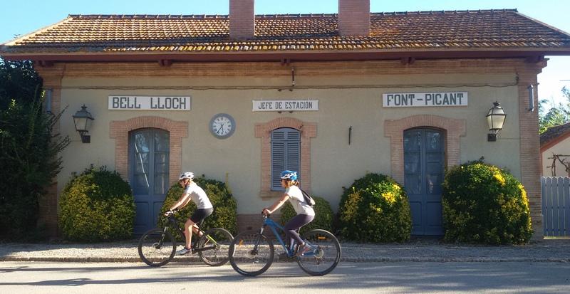 stazione sulla via verde Pirinexus