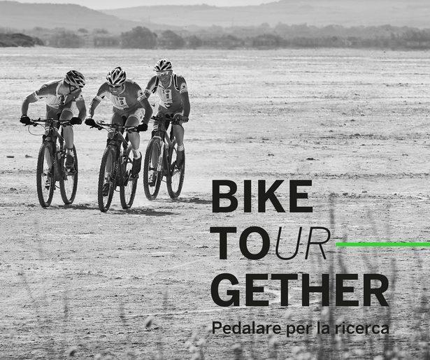 La copertina del libro Bike Tourgether di Matteo Marzotto