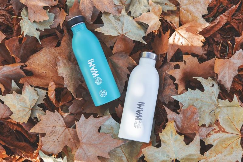 Bottiglie di acqua Wami, water with a mission