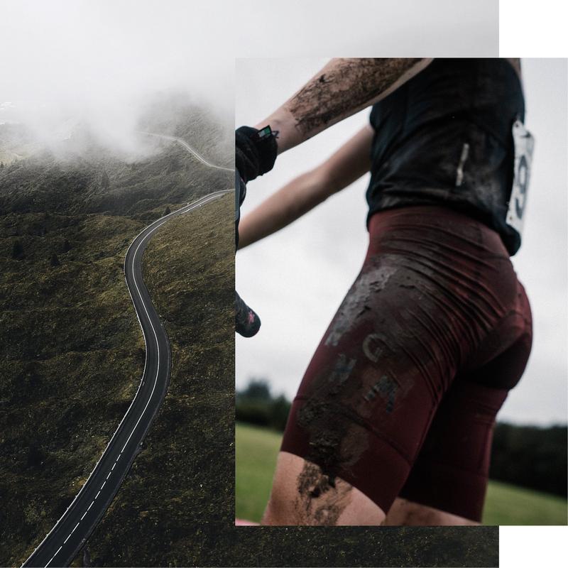 abbigliamento ciclismo donna pantaloncini No Gods No Masters