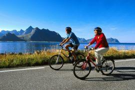 Lofoten in bicicletta