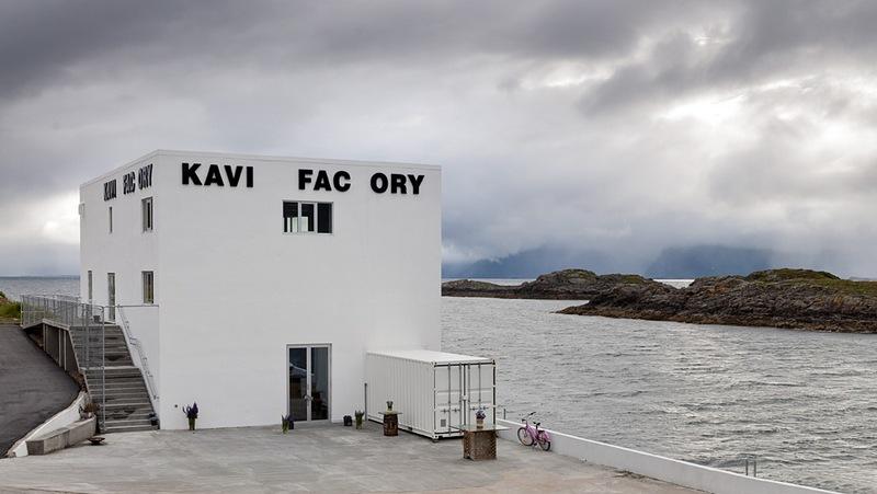 Kaviar Factory, spazio di arte contemporanea alle Lofoten