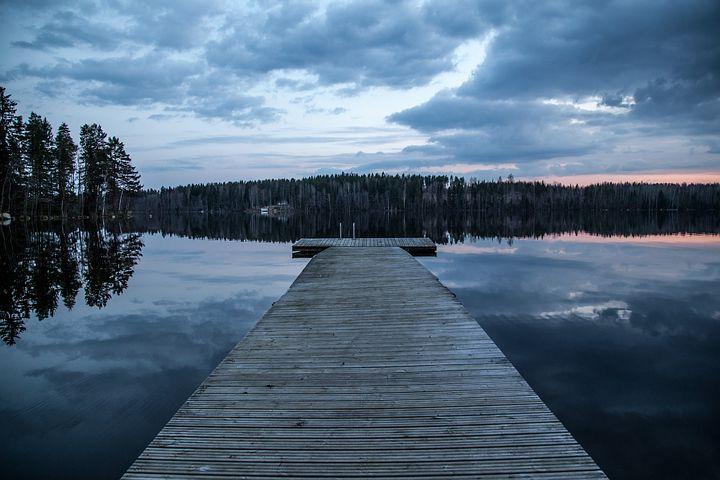 lago in Finlandia blog ladra di biciclette