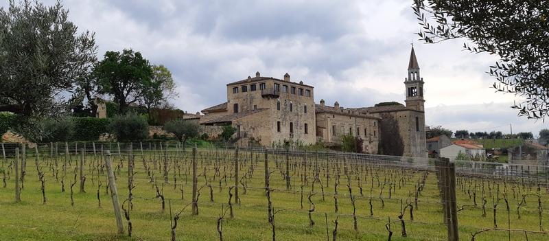 Castello di Semivicoli della famiglia Masciarelli in Abruzzo