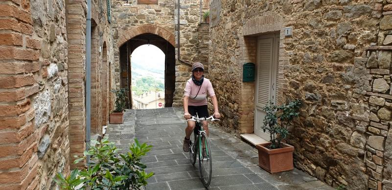 Eroica Montalcino bici vintage Castelnuovo dell'Abate