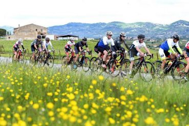 Tappa San Gimignano Orbetello del Giro-e