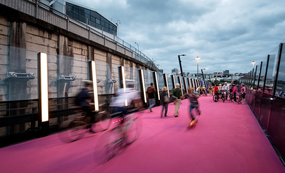 Il progetto di una ciclabile ad Auckland presentato alla biennale di architettura Amsterdam