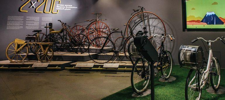 mostra sulla bicicletta Città della Scienza Napoli