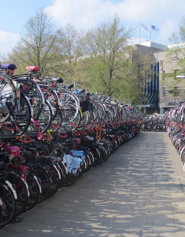 utrecht parcheggio bici
