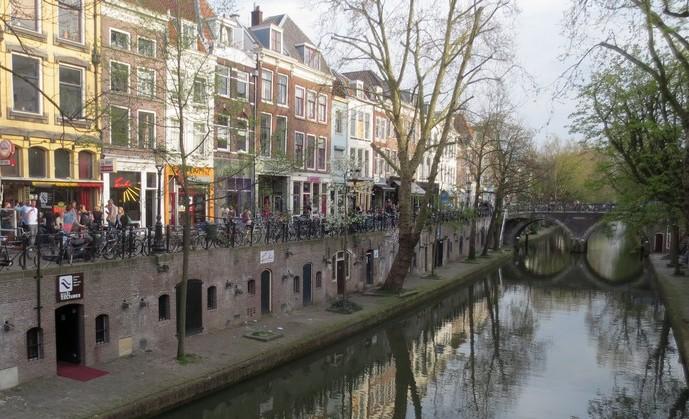 Canale Vecchio di Utrecht, una delle città più ciclabili del mondo