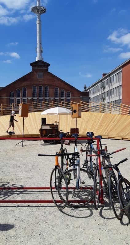 Storia della maglia gialla: il velodromo d'Ixelles a Brussels