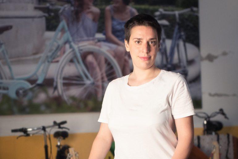 Simona Larghetti della Velostazione Dynamo di Bologna